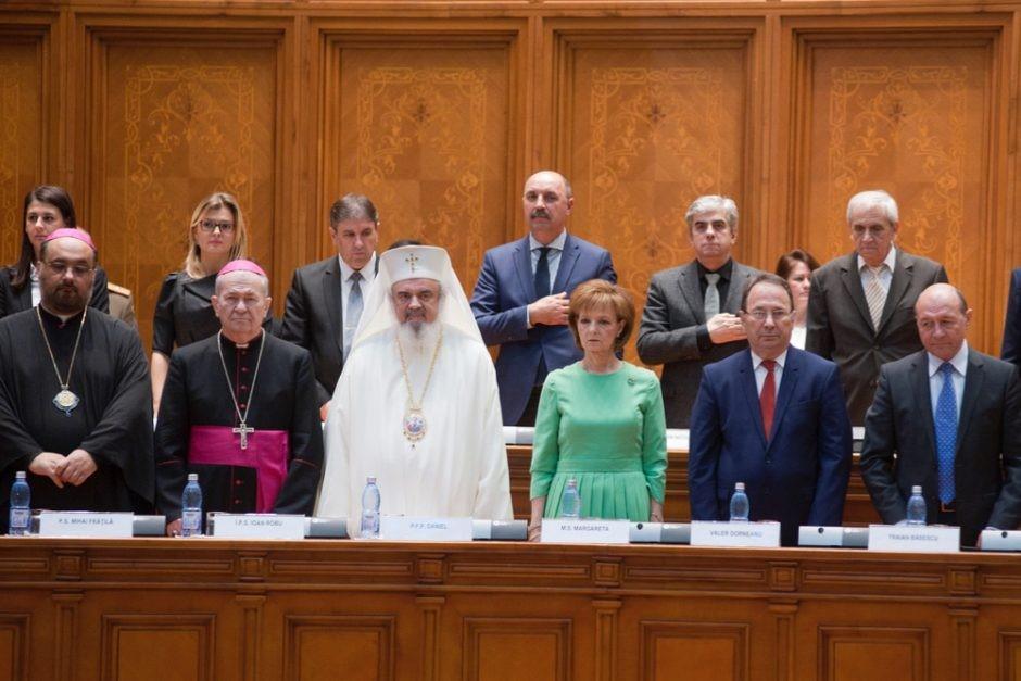 La princesse margareta au parlement