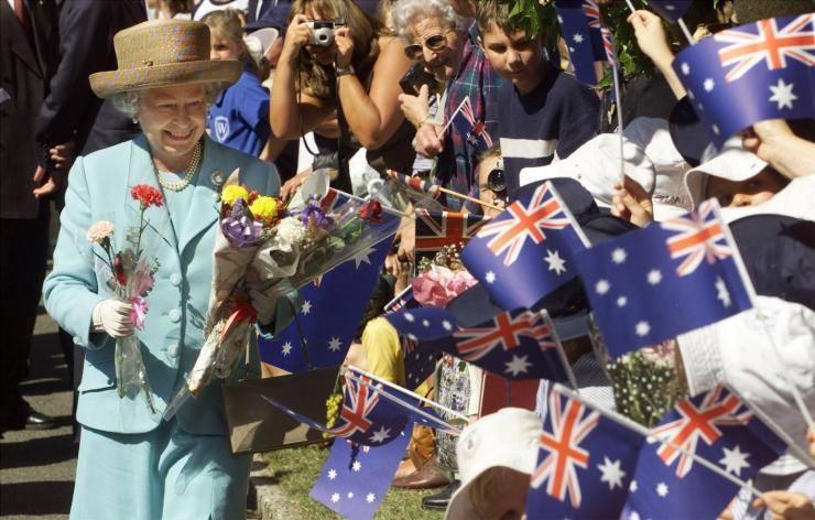 La reine elizabeth ii en australie
