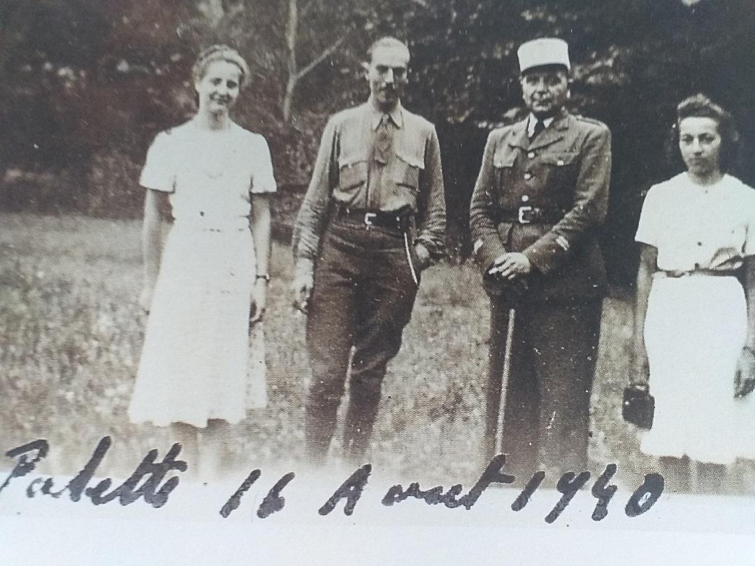 Le comte de paris en aout 1940