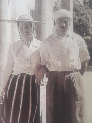 Le comte et la comtesse de paris au maroc 1941
