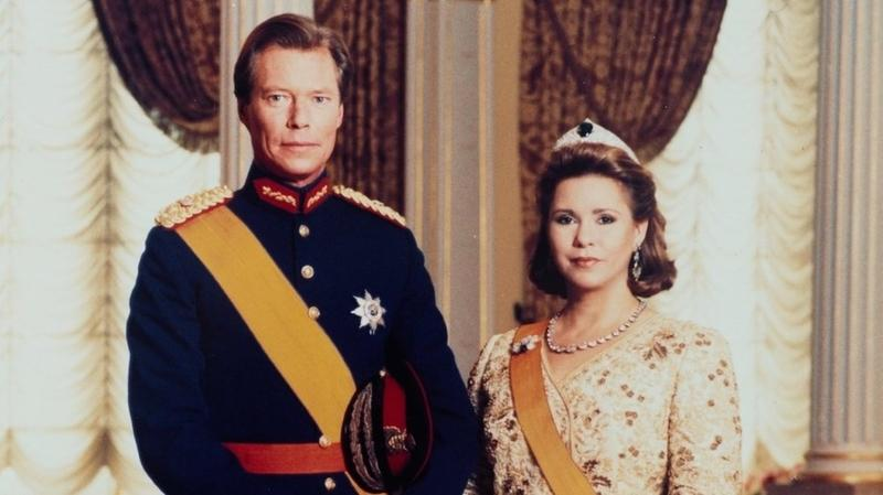 Le grand duc henri et son epouse photo cour grand ducale rtl