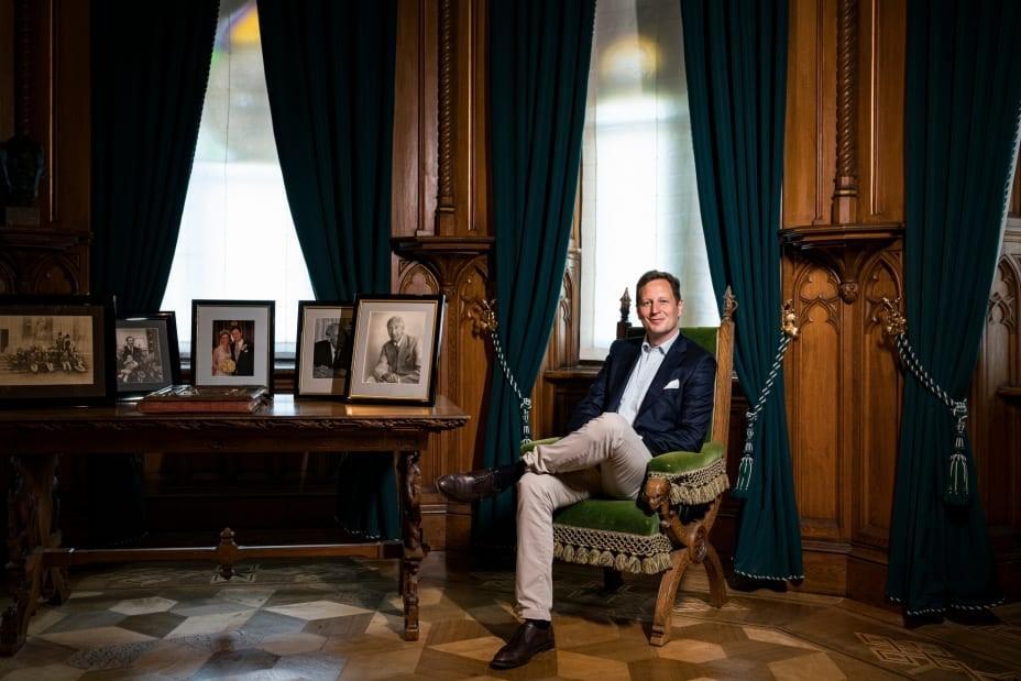 Le prince de prusse parmi ses ancetre credit patrick junkerlaif