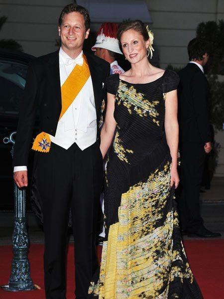 Le prince georg friedrich von preussen et son épouse