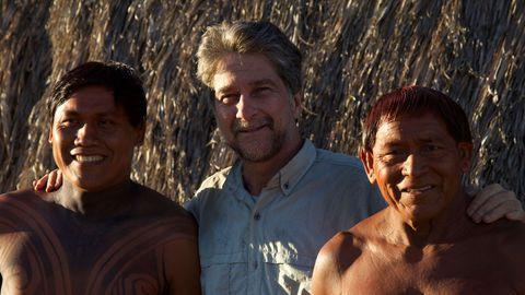 Le prince Joao et les indiens d'Amazonie
