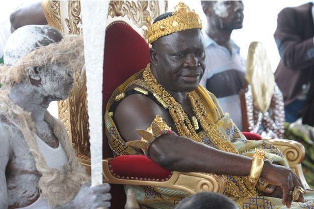 Le roi de sanwi amon ndouffou v