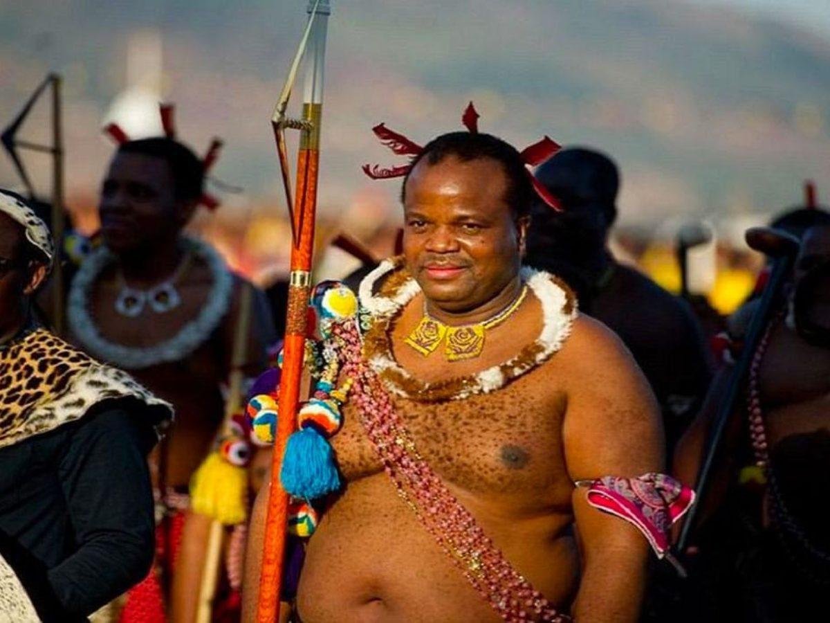 Le roi mswati iii