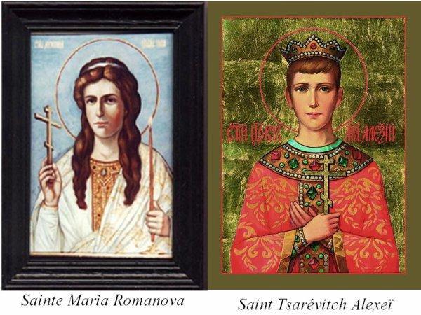 Les romanov sanctifies