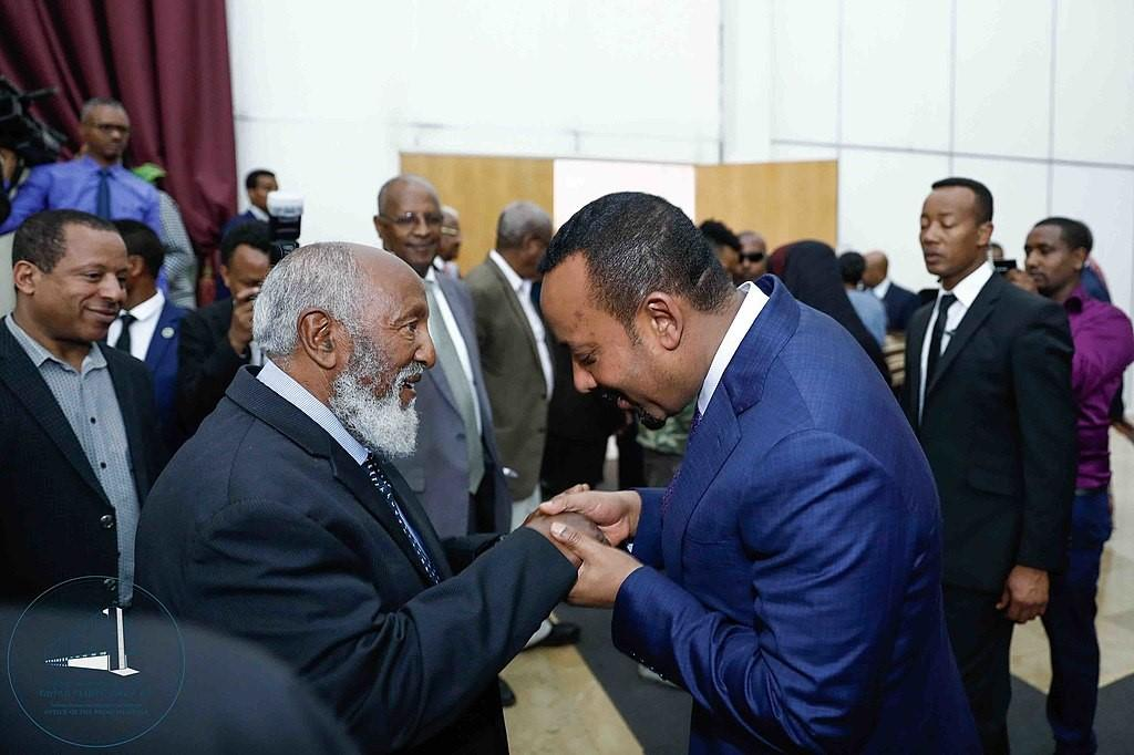 Leul ras seyoum mengesha et le premier ministre ethiopien