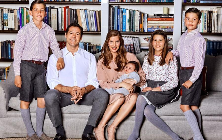 Louis de bourbon et sa famille
