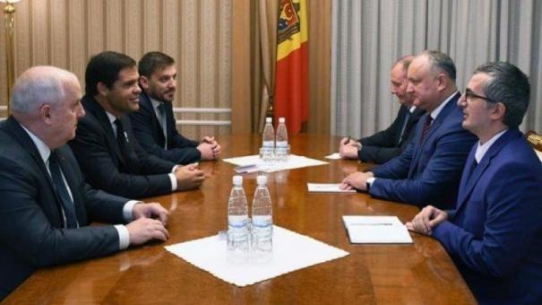 Louis de bourbon rencontre le president moldave photo presidence