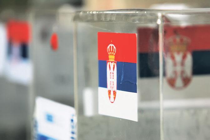 Urne prête pour le scrutin de juin 2020