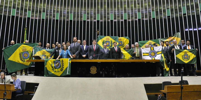 Le groupe parlementaire monarchiste brésilien