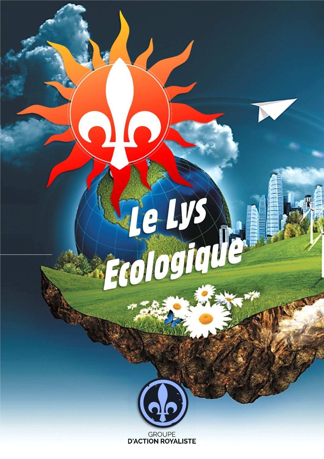 Logo écologiste du mouvement royaliste Groupe Action royaliste