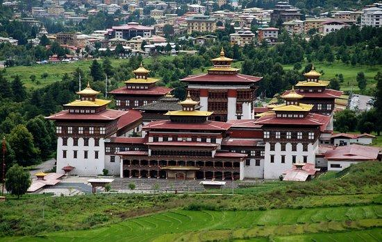 Palais royal du bhoutan