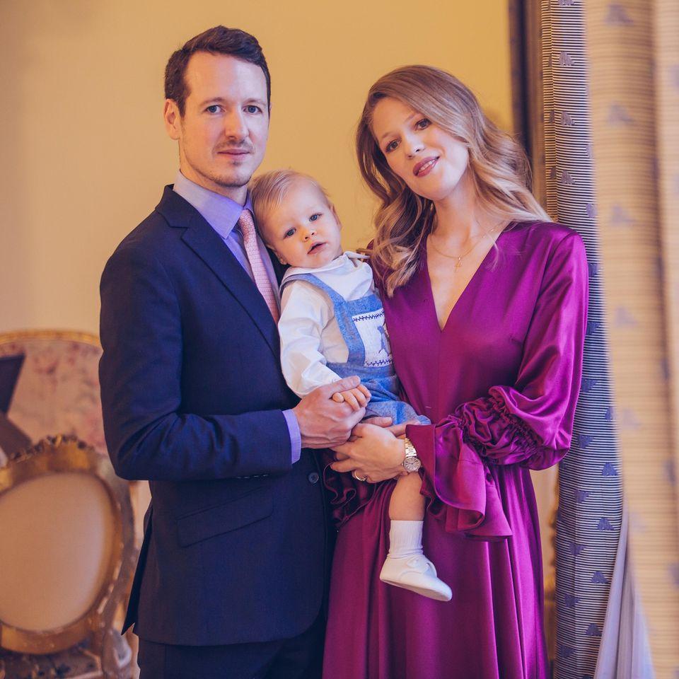 Philippe karageorgevic son fils et son epouse