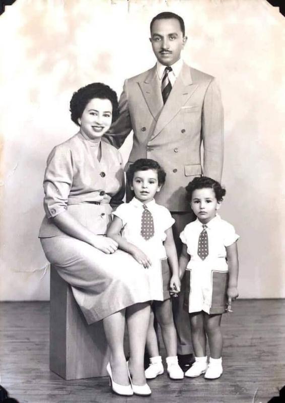 Princesse badia en famille