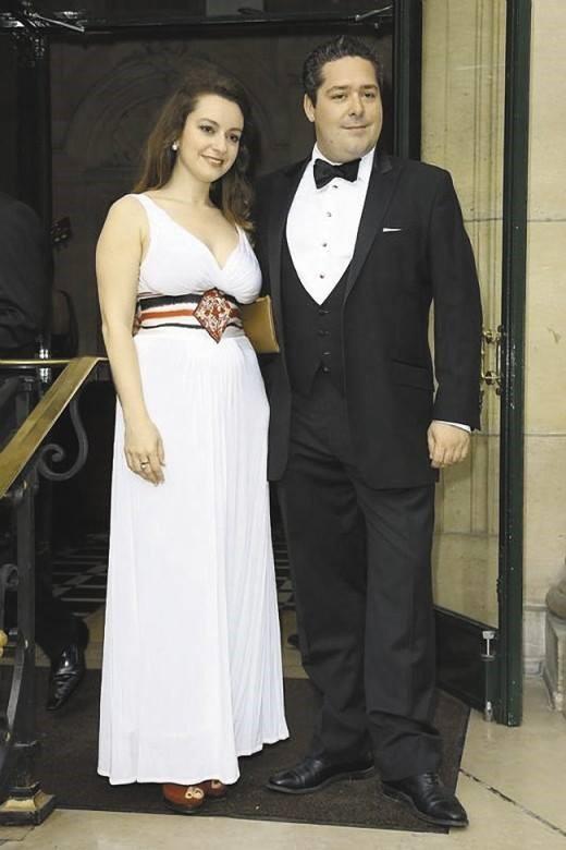 Rebecca bettarin et le grand duc georges