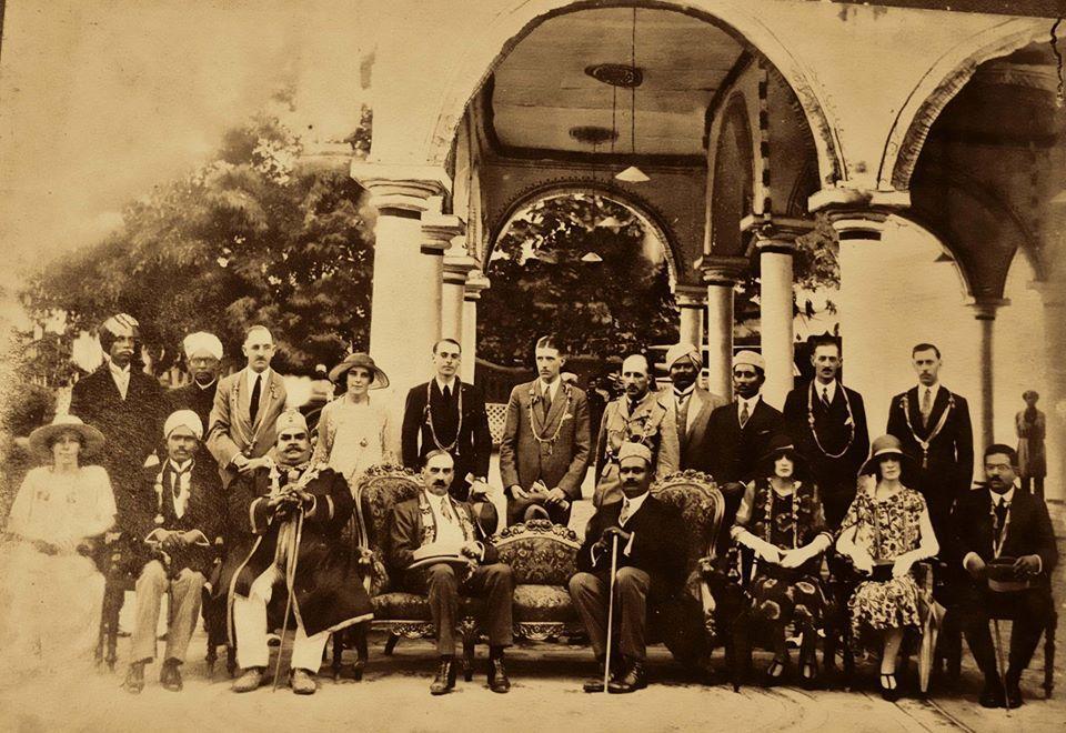 Shankara theerthapathy avec les britanniques