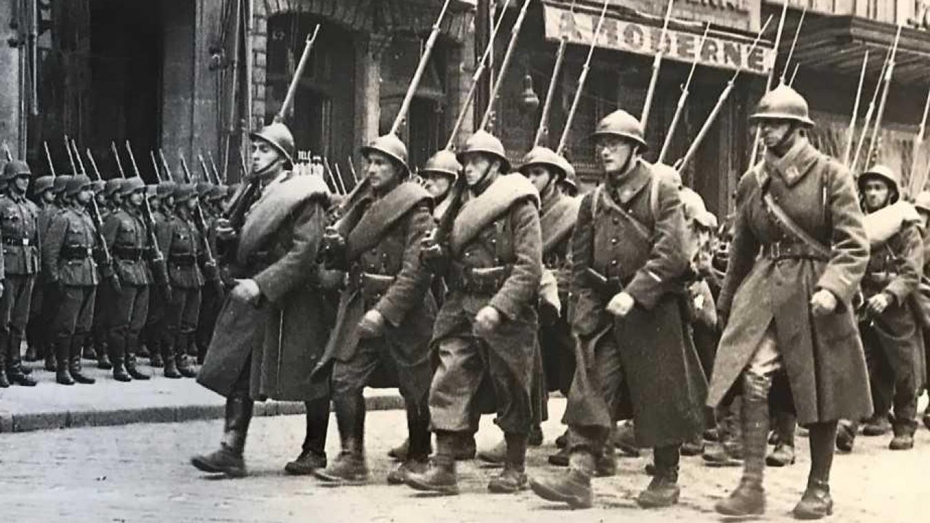 Soldats francais en 1940