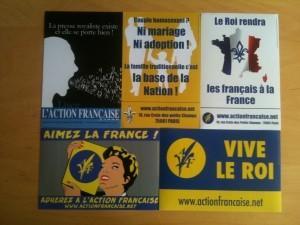 Stickers de l action francaise