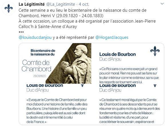 Tweet de la legitimite