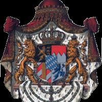 Wappen deutsches reich konigreich bayern grosses