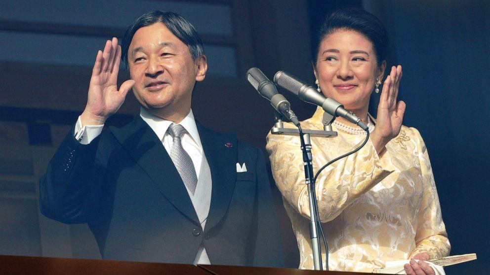L'empereur Naruhito et l'impératrice Masako