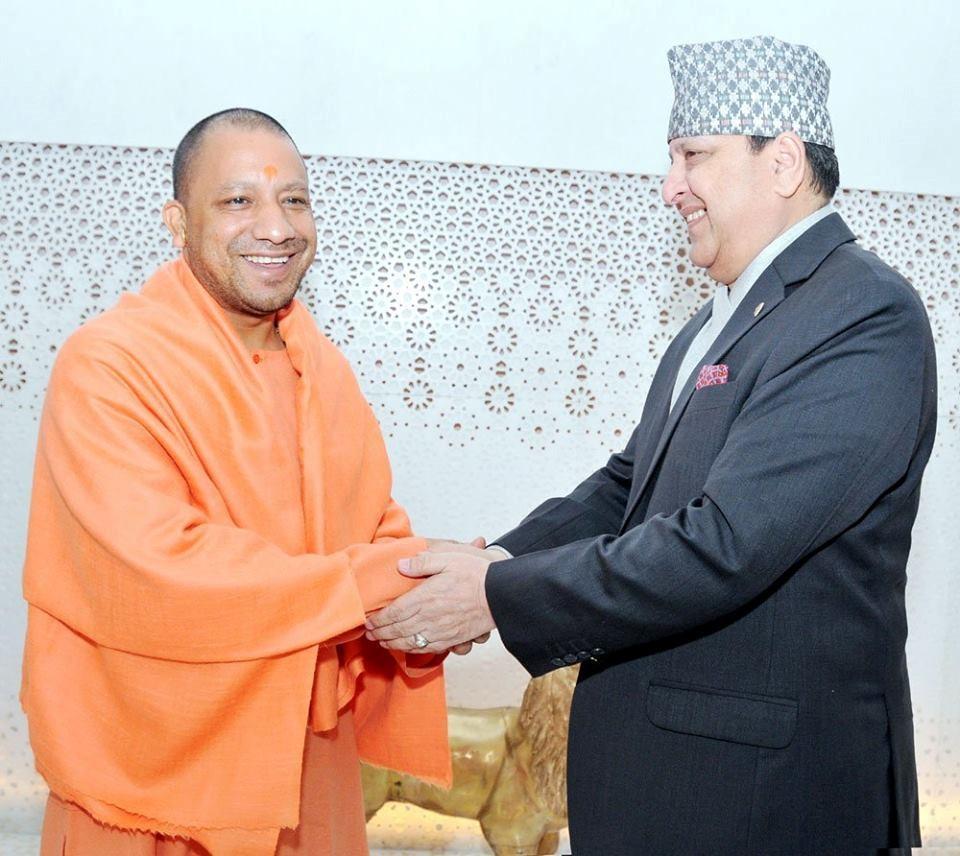 Yogi adityanath et gyanendra
