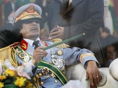colonel Mouammar Kadhafi