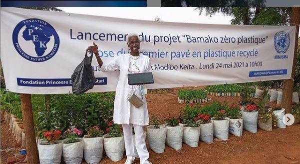 Esther Kamatari lance « l'opération Bamako zéro plastique »