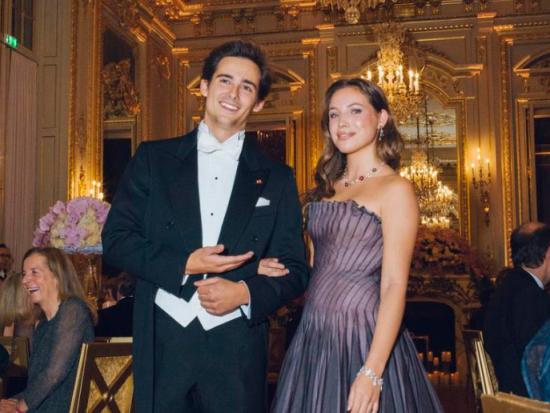Le prince Mirko et la comtesse Gabrielle de Pourtales