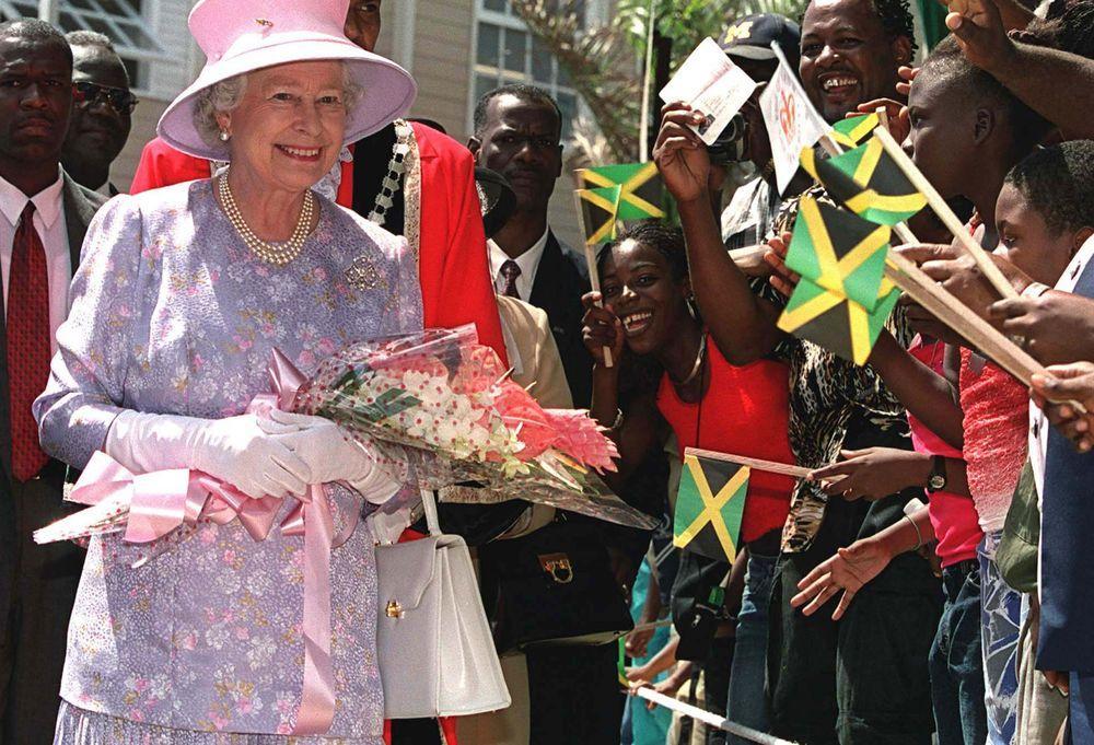 La reine Elizabeth II en Jamaïque