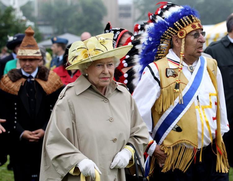 La reine Elizabeth II avec les Six-Nations (2010)