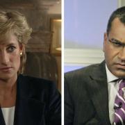 Lady  Diana et Martin Bashir
