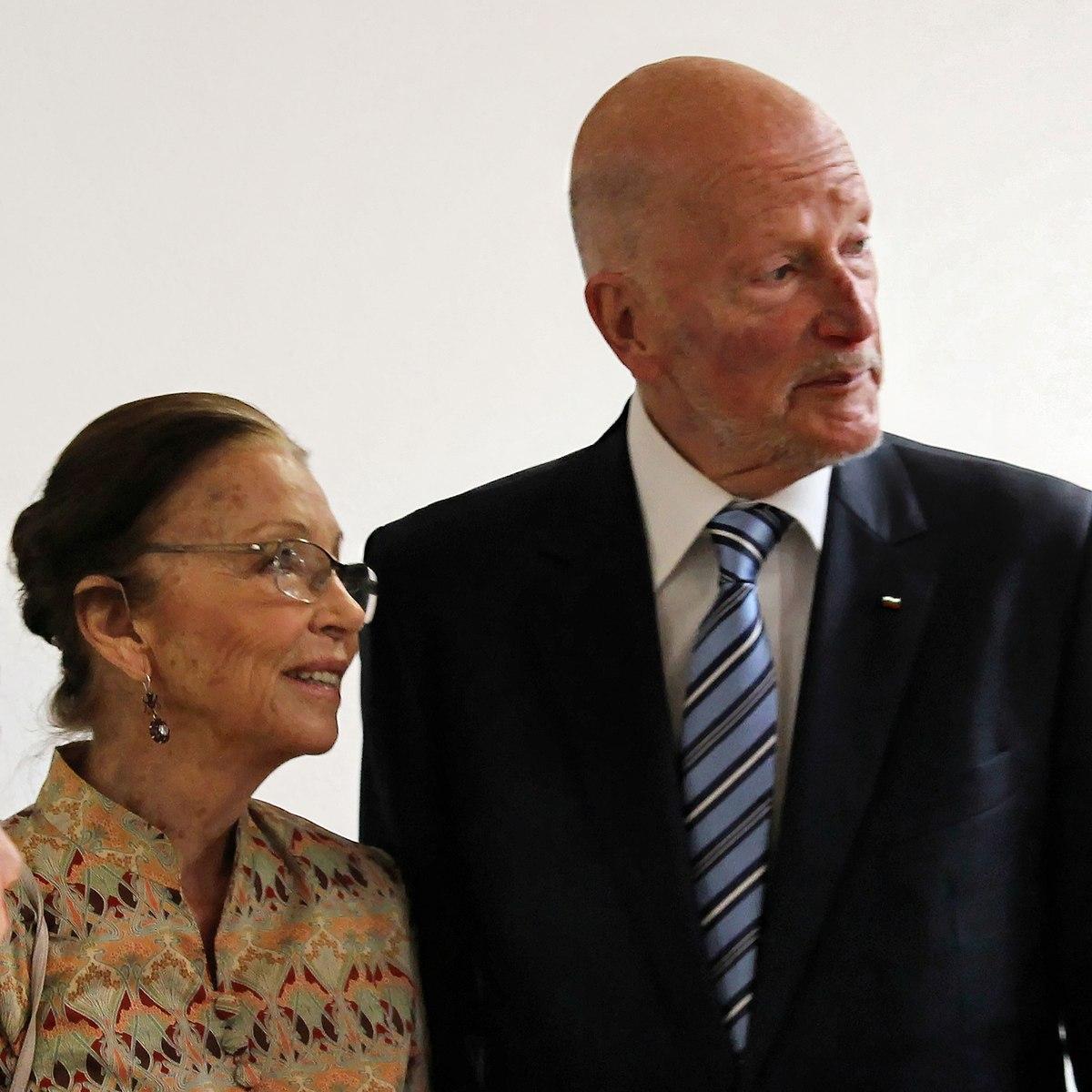 Siméon II et son épouse