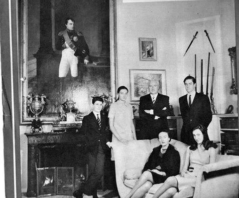 Famille impériale Napoléon en 1969
