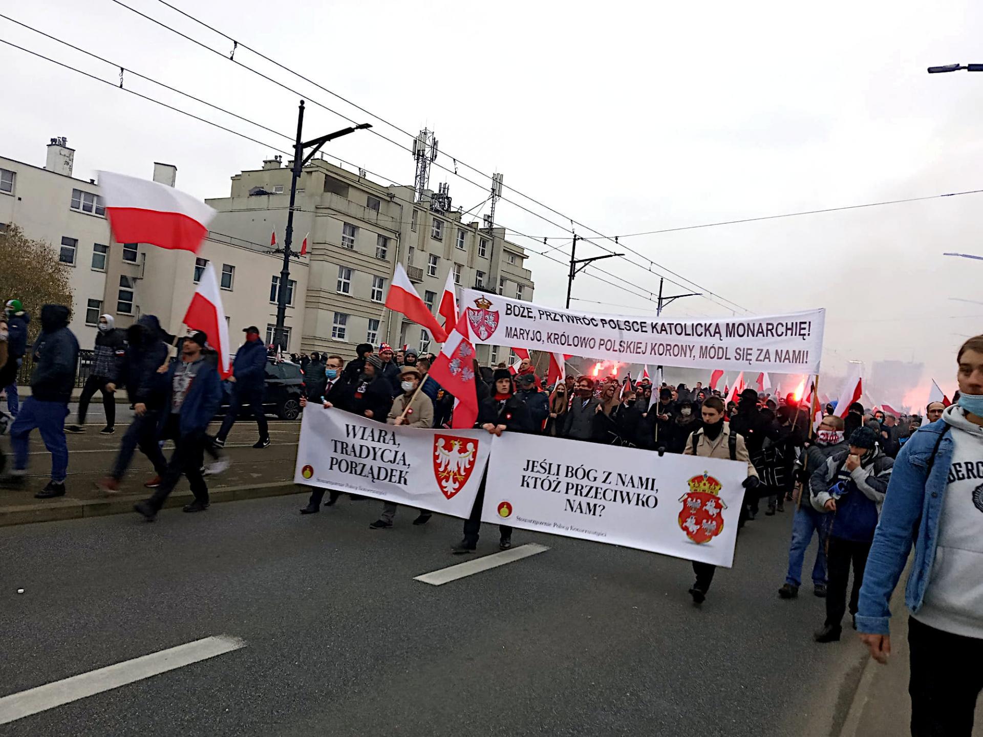 Les monarchistes marchent le 11 novembre
