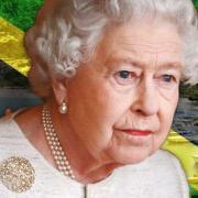 La reine Elizabeth , souveraine de Jamaïque