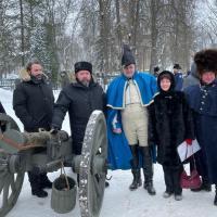 Le prince Joachim Murat, le Grand-duc Georges Romanov rendent hommage aux français et russes tombés en 1812