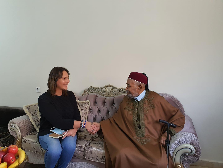 Prince Ahmed El Senoussis  interviewé par Vanessa Tomassini@Photo
