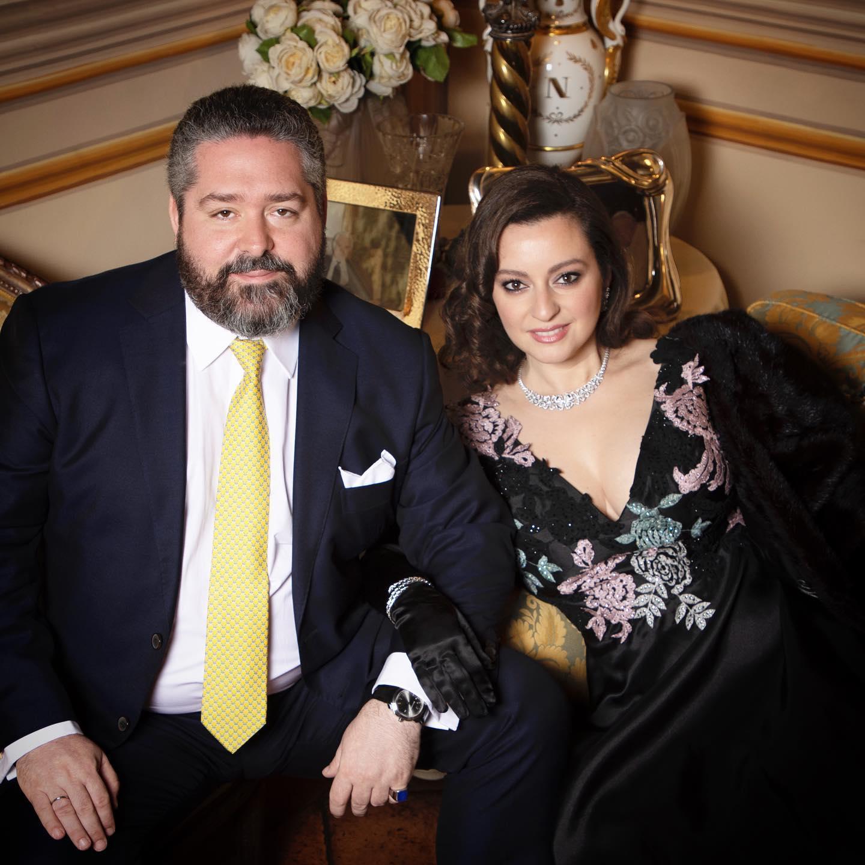 Georges Romanov et Victoria  Bettarini