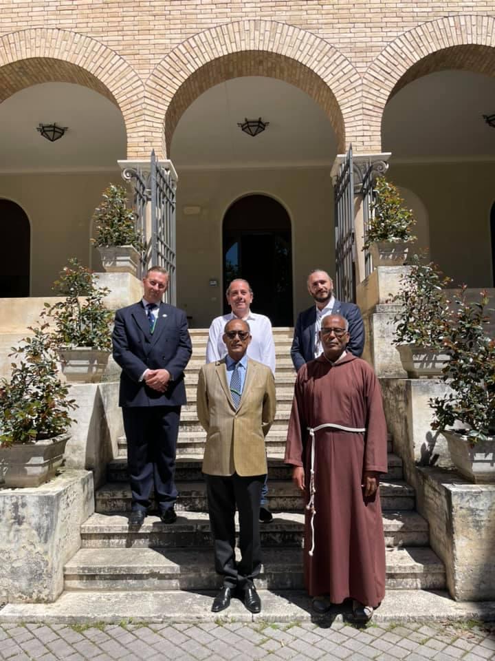 Le prince Ermias Sahle-Selassie dans la Cité du Vatican