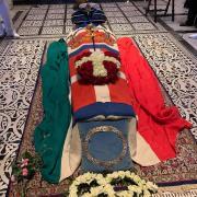 Cercueil du prince Amedeo de Savoie -Aoste Photos@Stefano Carlucci et Stefano Valieri