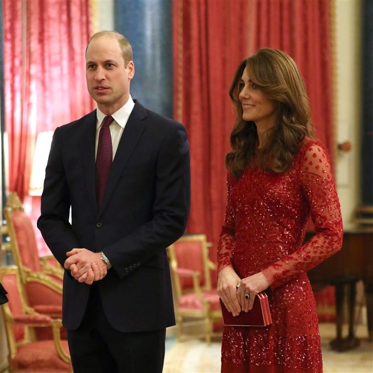 William et Catherine (Kate) de Cambridge