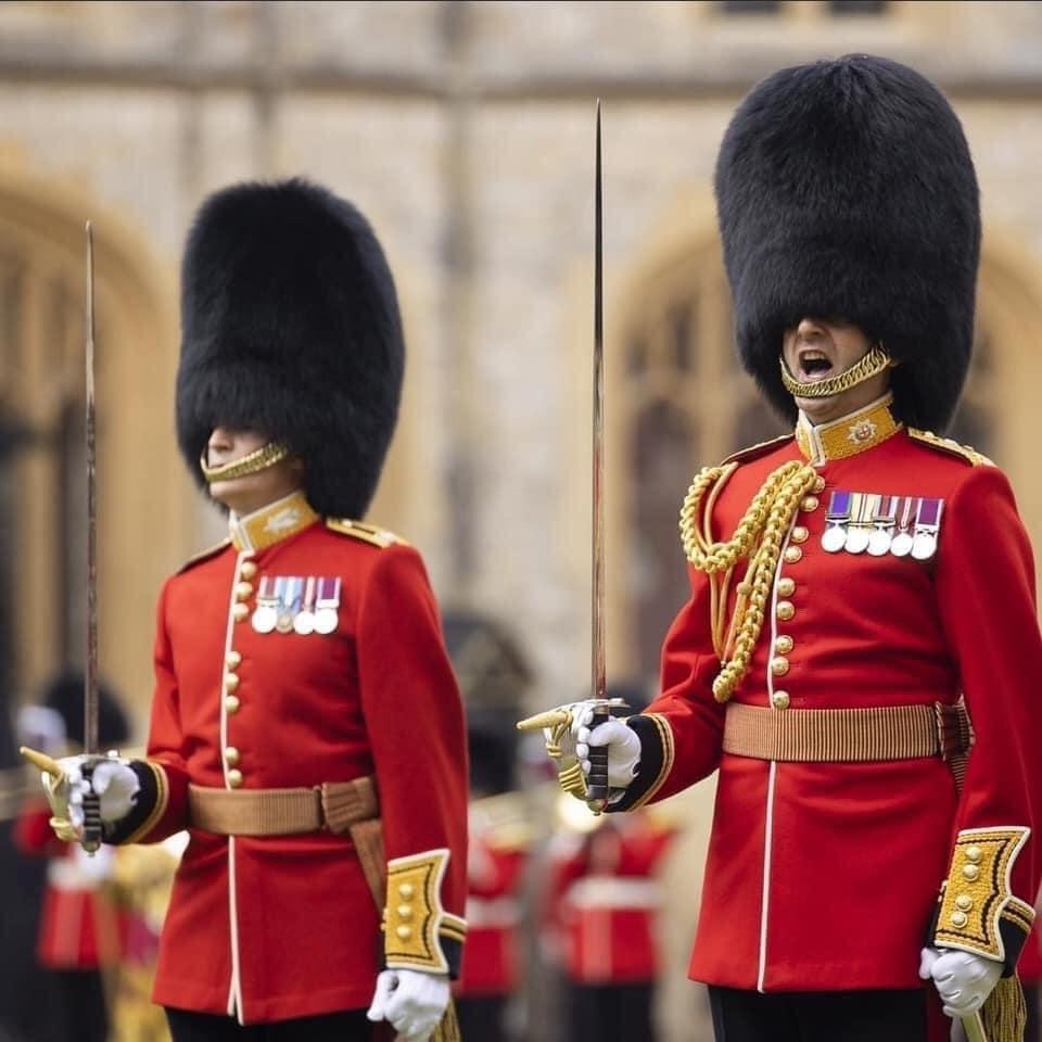 La Garde royale au Trooping of the colour