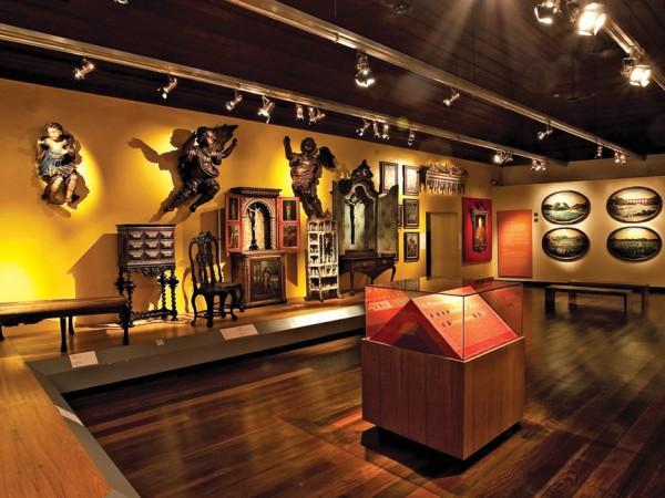 Une collection du  musée national de l'université fédérale de Rio de Janeiro