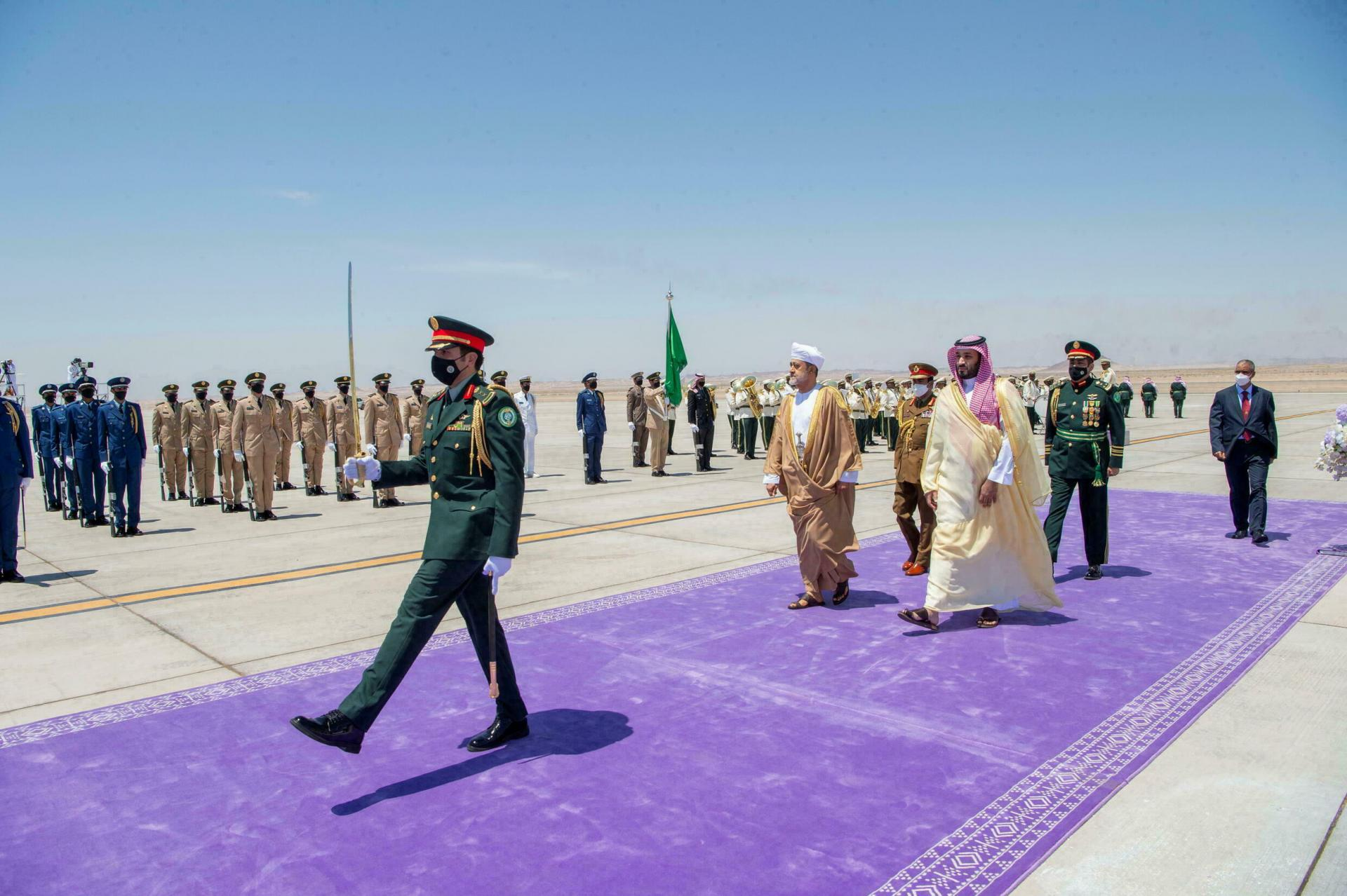 Haitham bin Tariq Al Said  en Arabie Saoudite