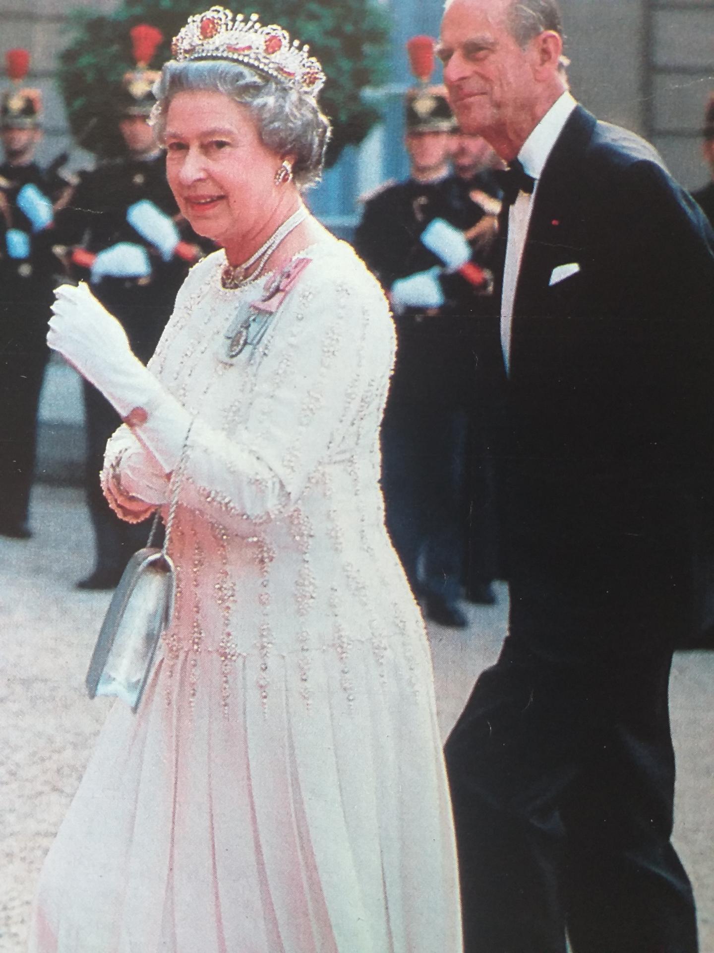 La reine Elizabeth II et Philip Mountbatten Photo@Point de Vue Images du Monde