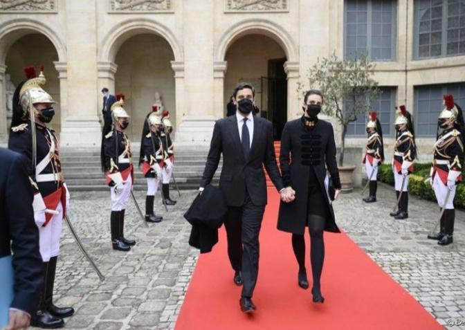 Le prince Napoléon et son épouse photo@Instagram Maison impériale @Bestimagee