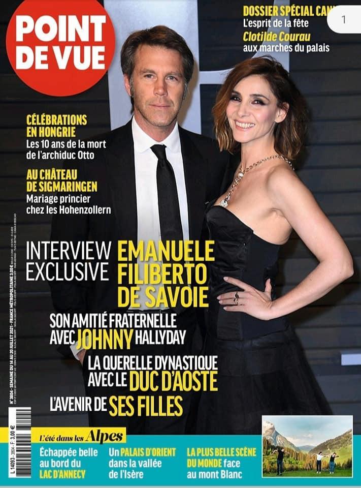 Interview du prince Emmanuel-Philibert de Savoie dans Point de Vue
